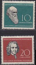Buy GERMANY DDR [1958] MiNr 0631-32 ( **/mnh )