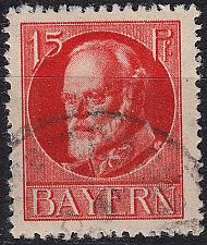 Buy GERMANY Bayern Bavaria [1916] MiNr 0115 A a ( O/used )