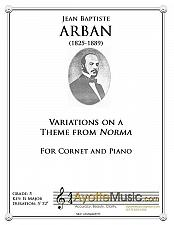 Buy Arban - Variations on a Theme from Norma for Trumpet and Concert Band