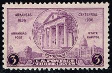 Buy US #782 Arkansas Centennial; Used (2Stars) |USA0782-09