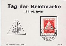 Buy GERMANY Alliiert SBZ [Allgemein] MiNr 0228 ( FDC ) Briefmarke Tag der