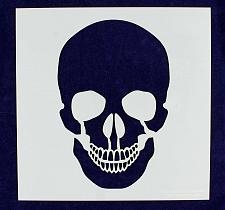 """Buy Large Skull Stencil- 16"""" x 16"""" Painting/Crafts/Stencil/Template -Mylar 14 Mil"""