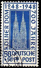 Buy GERMANY Alliiert AmBri [1948] MiNr 0072 ZC ( O/used )