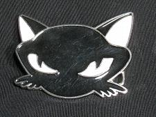 Buy Cat Belt Buckle animal Cat Head face black