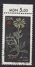 Buy GERMANY DDR [1966] MiNr 1244 ( OO/used ) Pflanzen