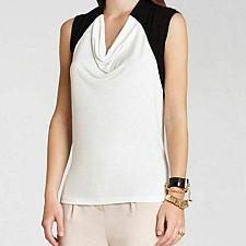 Buy BCBG MaxAzria Enya Top White co. $ 78.00 size L