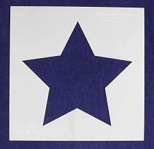 """Buy Single Star Stencil 14 Mil -11"""" X 11"""" Overall - Painting/Crafts/Templates"""