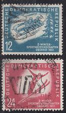 Buy GERMANY DDR [1951] MiNr 0280-81 ( O/used ) [01]