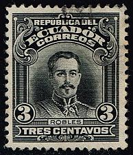 Buy Ecuador #205 Francisco Robles; Used (0.25) (1Stars) |ECU0205-02XRS