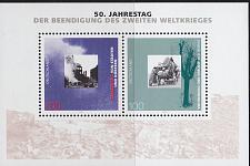 Buy GERMANY BUND [1995] MiNr 1794-95 Block 31 ( **/mnh )