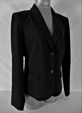 Buy CALVIN KLEIN womens Sz 10 L/S black 2 button FULLY LINED jacket (B4)