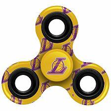 Buy NEW Los Angeles Lakers Team Logo Three-Way Fidget Spinner Kobe Bryant Free Ship