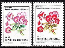 Buy ARGENTINIEN ARGENTINA [1985] MiNr 1757 ( **/mnh ) [01] ex Blumen 2 Farben