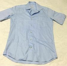 Buy DAVID DONAHUE Regular Fit Short Sleeve Shirt Sz M NWOT Damage (tear)