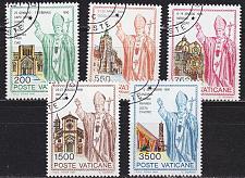 Buy VATIKAN VATICAN [1991] MiNr 1046-50 ( O/used )