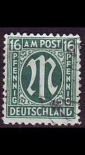 Buy GERMANY Alliiert AmBri [1945] MiNr 0025 A ( O/used )