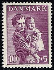 Buy Denmark #B12 Princesses Ingrid and Margrethe; MNH (5Stars)  DENB012-01
