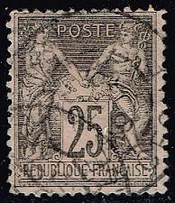 Buy France #100 Peace and Commerce; Used (2Stars) |FRA0100-01XVA