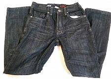Buy Urban Pipeline Girl's Jeans Slim Straight Size 12 Regular Dark Wash