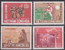 Buy VIETNAM SÜD SOUTH [1966] MiNr 0360-63 ( **/mnh )