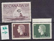 Buy KANADA CANADA [Lot] 32 ( **/mnh ) Dienst