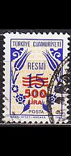 Buy TÜRKEI TURKEY [Dienst] MiNr 0186 ( O/used )