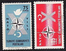 Buy TÜRKEI TURKEY [1962] MiNr 1830-31 ( **/mnh ) CEPT