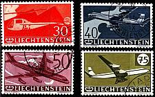 Buy LIECHTENSTEIN [1960] MiNr 0391-94 ( O/used ) Flugzeuge