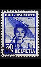 Buy SCHWEIZ SWITZERLAND [1940] MiNr 0376 ( O/used ) Pro Juventute