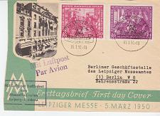 Buy GERMANY DDR [1950] MiNr 0248-49 ( FDC ) [01] Luftpost