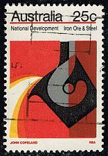 Buy Australia #551 Iron Ore and Steel; Used (1.40) (3Stars) |AUS0551-01XBC