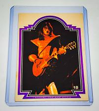 Buy VINTAGE KISS LIVE ACE FREHLEY 1978 AUCOIN ROCK MUSIC COLLECTORS CARD #44 GD/VG