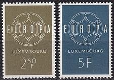 Buy LUXEMBURG LUXEMBOURG [1959] MiNr 0609-10 ( **/mnh ) CEPT