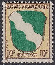 Buy GERMANY Alliiert Franz. Zone [Allgemein] MiNr 0005 ( */mh )