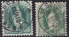 Buy SCHWEIZ SWITZERLAND [1882] MiNr 0059 X A ( O/used ) [02] 2 Farben