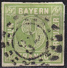Buy GERMANY Bayern Bavaria [1850] MiNr 0005 III d ( O/used ) [01]