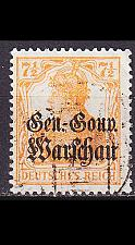 Buy GERMANY REICH Besetzung [Polen] MiNr 0009 a ( O/used )