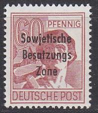 Buy GERMANY Alliiert SBZ [Allgemein] MiNr 0195(A) ( **/mnh )