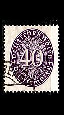 Buy GERMANY REICH Dienst [1927] MiNr 0121 X ( O/used )