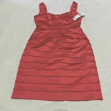Buy Lauren Ralph Lauren Size 8 Essential Red Dress $190.00