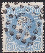 Buy BELGIEN BELGIUM [1869] MiNr 0028 b ( O/used ) [01]