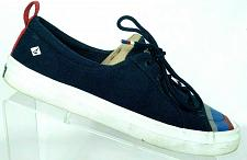 Buy Sperry Top Sider Womens Crest Vibe Navy Blue Canvas Sneaker Shoes Size 9 M