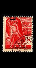 Buy GERMANY Saar [1947] MiNr 0209 PF V ( O/used ) Plattenfehler