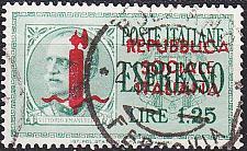 Buy ITALIEN ITALY [1944] MiNr 0648 ( O/used )