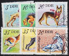 Buy GERMANY DDR [1976] MiNr 2155-60 ( O/used ) Tiere