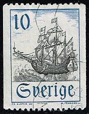 Buy Sweden #738 Merchant Vessel in Oresund; Used (0.25) (4Stars) |SVE0738-12