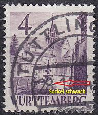 Buy GERMANY Alliiert Franz. Zone [Württemberg] MiNr 0029 y c V ( O/used )