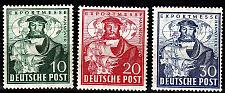Buy GERMANY Alliiert AmBri [1949] MiNr 0103-05 ( **/mnh )