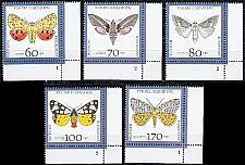 Buy GERMANY BUND [1992] MiNr 1602-06 ( **/mnh ) [01] Schmetterlinge FormNr