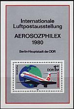 Buy GERMANY DDR [1980] MiNr 2520 Block 59 ( **/mnh ) Flugzeuge